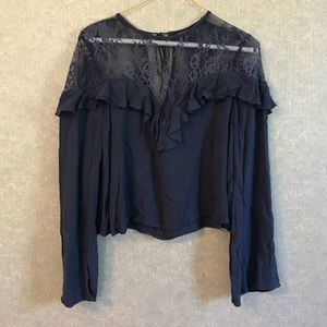 NWOT American Eagle lace top shirt